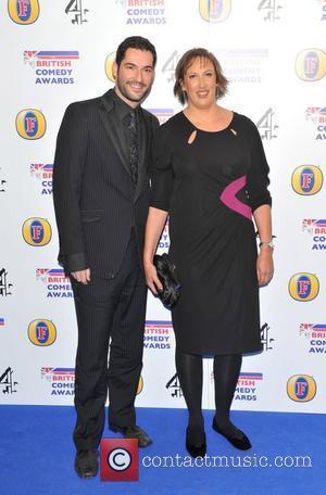 Miranda Hart British Comedy Awards 2010 held at the Indigo2, The O2 Arena London, England - 22.01.11