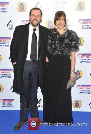 Ben Miller and guest British Comedy Awards 2010 held at the Indigo2, The O2 Arena London, England - 22.01.11