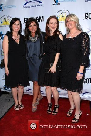 Rachael Ray and Julianne Moore  2010 Comedy for a Cure to benefit the Tuberous Sclerosis Alliance at Providence New...