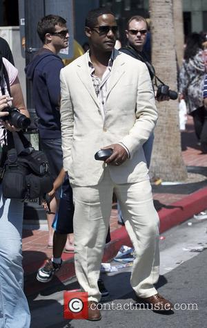 Blair Underwood leaves his hotel San Diego, California - 25.07.10