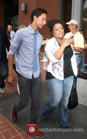 Danny Pudi and Yvette Nicole Brown visit the Hard Rock Cafe San Diego, California - 25.07.10