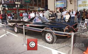 The Bat Mobile from Batman 2010 Wizard World Big Apple Comic Con held at the Penn Plaza Pavilion.  New...