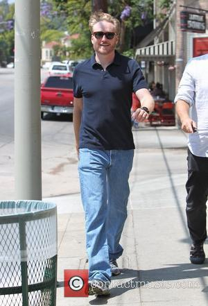 Conan O'Brien appears to be in a good mood as he leaves a restaurant in Los Feliz Los Angeles, California...