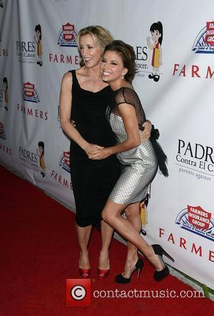 Felicity Huffman, Eva Longoria and Palladium