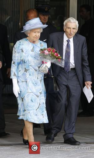 Queen Elizabeth II The Royal Society 350th Anniversary Convocation held at the Royal Festival Hall - departures London, England -...