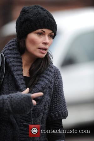 Alison King 'Coronation Street' stars at the Granada Studios Manchester, England - 05.01.11