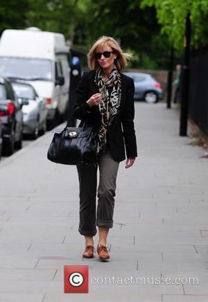 Katherine Kelly arriving at Granada Studios to film 'Coronation Street' Manchester, England - 19.05.10