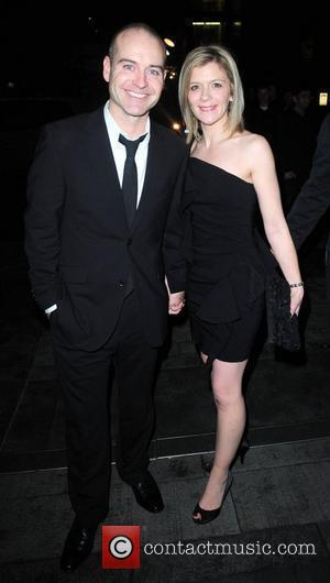 Jane Danson and Robert Beck arrives at the Hilton Hotel Manchester for coronation street 50th Anniversary ball