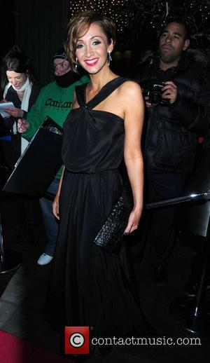 Lucy-Jo Hudson 'Coronation Street' 50th Anniversary Ball held at the Machester Hilton hotel Manchester, England - 10.12.10
