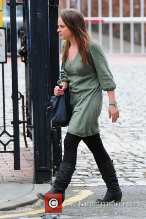Vicky Binns 'Coronation Street' cast members arriving at Granada Studios Manchester, England - 07.07.10