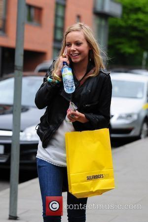 Sacha Parkinson arrives at The Granada studios complex to film 'Coronation Street.' Manchester England - 19.05.10