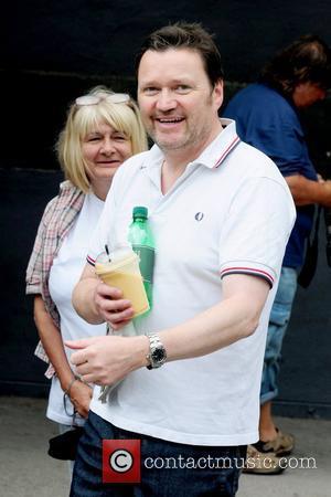 Ian Puleston-Davies 'Coronation Street' cast members arriving at Granada Studios Manchester, England - 01.07.10