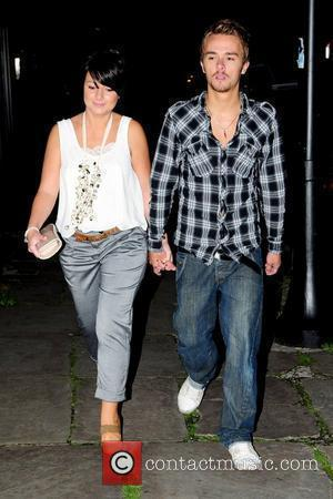 Jack P. Shepherd and Lauren Shippey 'Coronation Street' cast members arriving at The Ox to bid farewell to Rachel Leskovac,...
