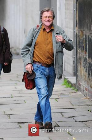 David Neilson arrives at Granada studios to film coronation street Manchester, England - 22.07.10