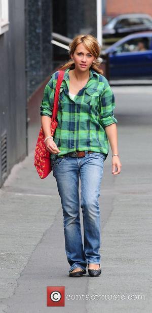 Samia Smith arrives at Granada studios to film coronation street Manchester, England - 22.07.10