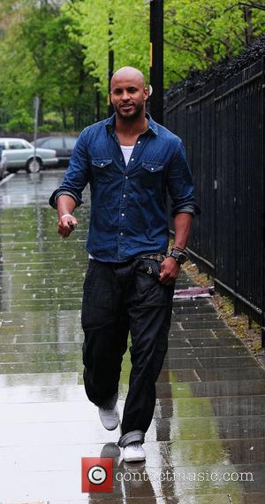 Ricky Whittle arriving at the Granada studios Manchester, England - 29.04.10