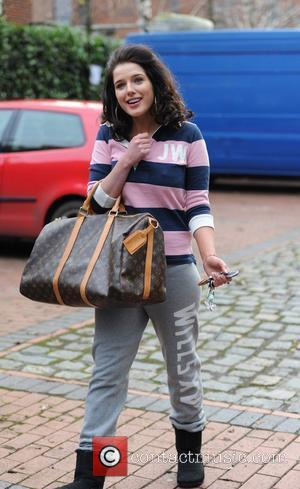 Helen Flanagan 'Coronation Street' stars at the Granada Studios in Manchester Manchester, England - 03.01.11