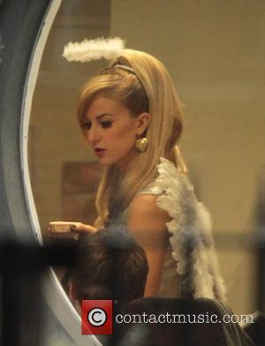 Katherine Kelly 'Coronation Street' stars at the Granada Studios Manchester, England - 08.11.10