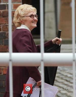 Eileen Derbyshire 'Emily Bishop' Sets Herself On Fire