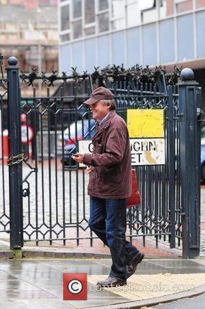 David Neilson 'Coronation Street' stars arriving at the Granada Television studios. Manchester, England - 13.09.10