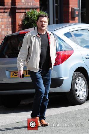 Ian Puleston-Davies 'Coronation Street' stars arriving at the Granada Television studios. Manchester, England - 13.09.10