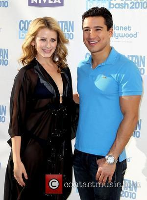 Lauren Bosworth and Mario Lopez