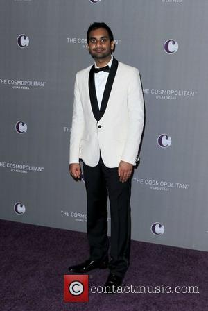 Aziz Ansari   The Cosmopolitan Grand Opening and New Year's Eve Celebration at Marquee Nightclub in The Cosmopolitan Las...