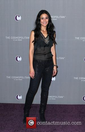 Emmanuelle Chriqui   The Cosmopolitan Grand Opening and New Year's Eve Celebration at Marquee Nightclub in The Cosmopolitan Las...