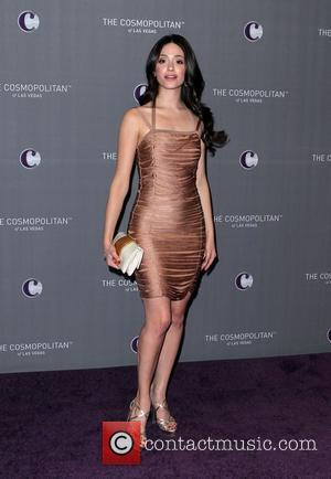 Emmy Rossum   The Cosmopolitan Grand Opening and New Year's Eve Celebration at Marquee Nightclub in The Cosmopolitan Las...