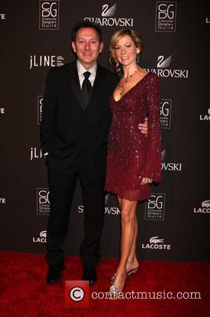 Michael Emerson and Carrie Preston