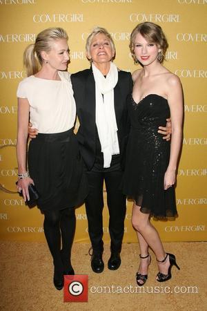 Portia De Rossi, Ellen Degeneres and Taylor Swift