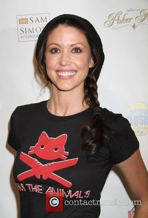 Shannon Elizabeth All In For CP Celebrity Charity Poker Tournament to benefit the 'ONe Step Closer Foundation' at The Venetian...