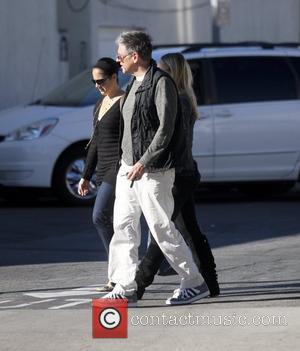 Craig Ferguson out shopping with his family in West Hollywood. Los Angeles, California - 12.11.10