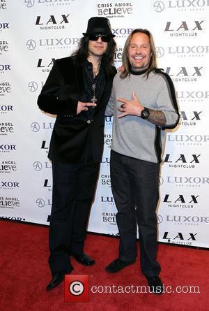 Criss Angel, Las Vegas and Vince Neil