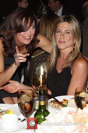 Jane Fleming and Jennifer Aniston
