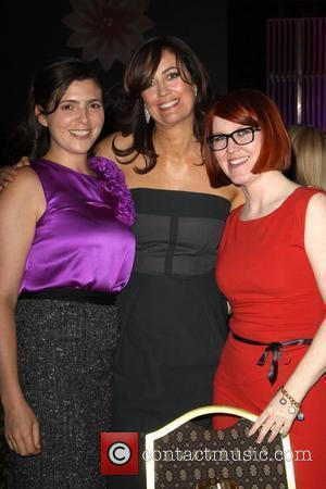 Kate Flannery and Jane Fleming With Guest
