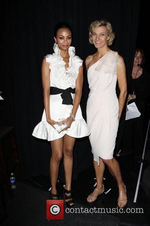 Zoe Saldana and Nicola Maramotti