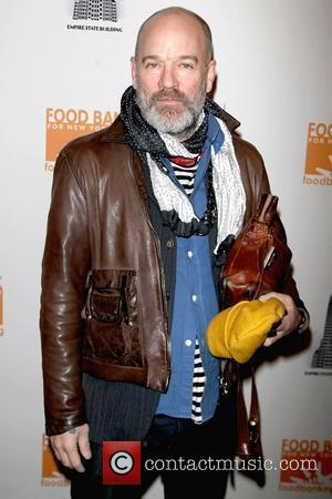 Michael Stipe Mario Batali and Food Bank For NYC launch 'The Culinary Council' at the Empire State Building - Arrivals...
