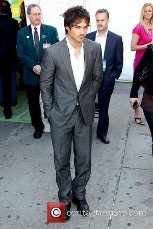 Ian Somerhalder 2010 The CW Network UpFront at Madison Square Garden - Outside Arrivals New York City, USA - 20.05.10