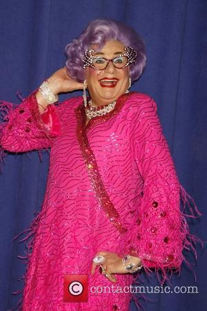 Dame Edna Everage  A photocall for the upcoming Broadway show 'All About Me' held at New 42nd Street Studios....