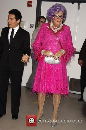 Dame Edna Everage and Michael Feinstein