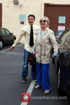 Corky Ballas and Florence Henderson Celebrities outside the dance rehearsal studio for ABC-TV's 'Dancing with the Stars'  Los Angeles,...