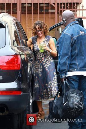Jennifer Grey  Celebrities outside the dance rehearsal studio for ABC-TV's 'Dancing with the Stars'  Los Angeles, California -...