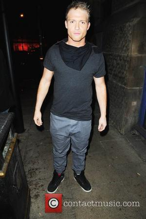 Chris Fountain Kieron Richardson's party at Tribeca Bar to say goodbye to Brianne Delcourt who is leaving 'Dancing on Ice'...