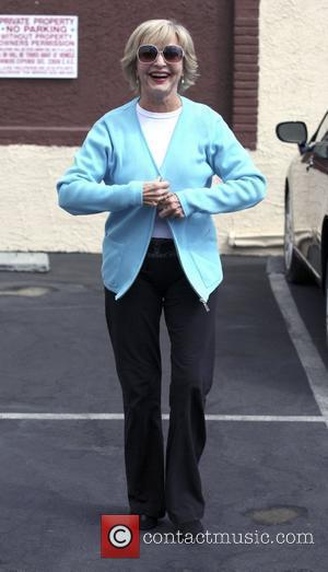 Florence Henderson,  outside the dance-rehearsal studio for ABC-TV's Dancing with the Stars. Los Angeles, California - 22.09.10