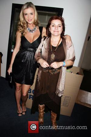 Joanna Krupa and her mother Wendy Gillham Krupa  Gifting Services Honoring Season 10 Opener of Dancing with the Stars...