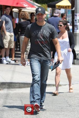 Dane cook seen leaving Toast Restaurant on 3rd street after having lunch Los Angeles, USA - 31.07.10