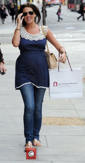 Pregnant Danielle Lloyd and Danielle Lloyd