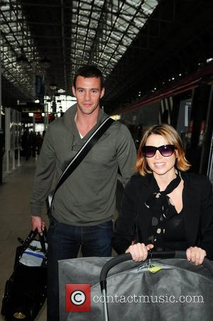 Dannii Minogue and Kris Smith