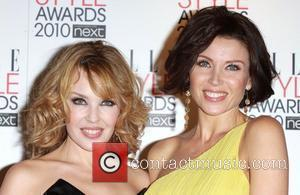Dannii Minogue and Kylie Minogue
